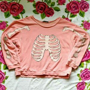 Wildfox Pink Skeleton